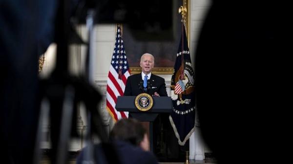 """Tổng thống Joe Biden xác định Trung Quốc là ưu tiên chính sách đối ngoại của Mỹ và coi """"Bộ tứ"""" là trọng tâm trong nỗ lực của ông nhằm thách thức ảnh hưởng của Bắc Kinh ở châu Á. Ảnh: Bloomberg."""