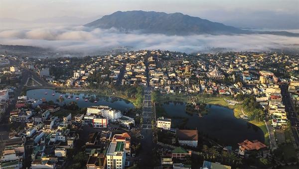 Thị trường bất động sản Bảo Lộc đang thu hút nhiều dự án đầu tư.