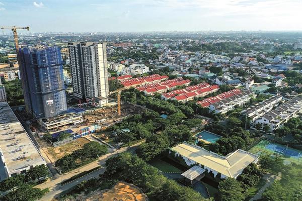 Bất động sản tại thành phố Thuận An đang phát triển nhanh chóng.