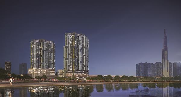 Dự án LUMIÈRE riverside nằm tại vị trí trung tâm Thảo Điền, Quận 2.