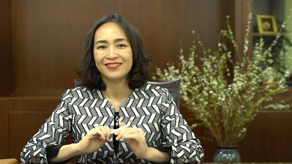 Bà Nguyễn Thị Kim Oanh - Phó Tổng Giám đốc của Vietcombank