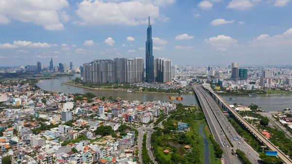 Nguồn cung căn hộ mới tại khu Đông của TP.HCM dự kiến sẽ tăng 11,5% mỗi năm từ năm 2020 đến 2025. Ảnh: VnExpress/Hữu Khoa