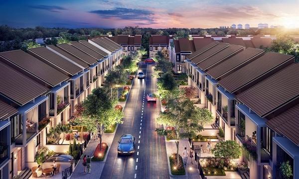 Nhà phố xây sẵn phân khu Sapphire Parkview lần đầu tiên được công bố ra thị trường