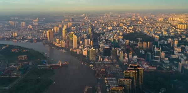 Xu hướng dịch chuyển chuỗi sản xuất từ Trung Quốc sang Việt Nam mở ra cơ hội tăng trưởng cho thị trường địa ốc Việt Nam. Ảnh: Zing.vn