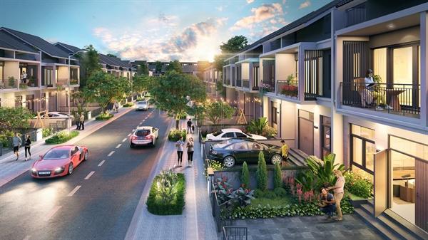 Dòng sản phẩm xây sẵn đa công năng phân khu Sapphire Parkview thu hút khách hàng.