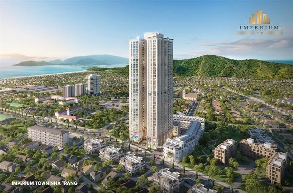 Dự án chung cư cao cấp kết hợp với trung tâm thương mại Imperium Town.