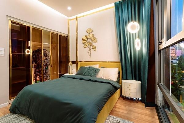 Từng đường nét nội thất được tính toán, trau chuốt tỉ mỉ trở thành điểm nhấn về thiết kế của từng căn hộ D-Homme.