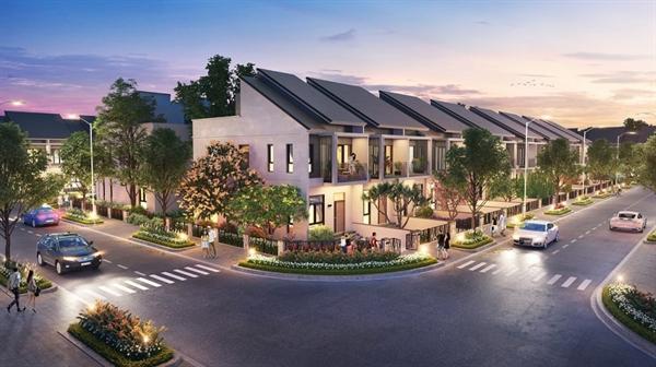 Dòng sản phẩm nhà phố xây sẵn phân khu Sapphire Parkview với thiết kế sang trọng lần đầu tiên được giới thiệu ra thị trường.
