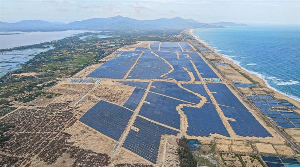 Nhà máy điện năng lượng Phù Mỹ - Bình Định, dự án với tổng mức đầu tư lên đến 6.200 tỷ đồng, Tracodi là tổng thầu xây dựng.