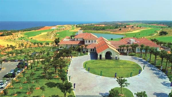 Dự án NovaWorld Phan Thiet chính thức khai trương một phần cụm sân golf PGA độc quyền tại Việt Nam - sân PGA Ocean ngày 17.4.2021.