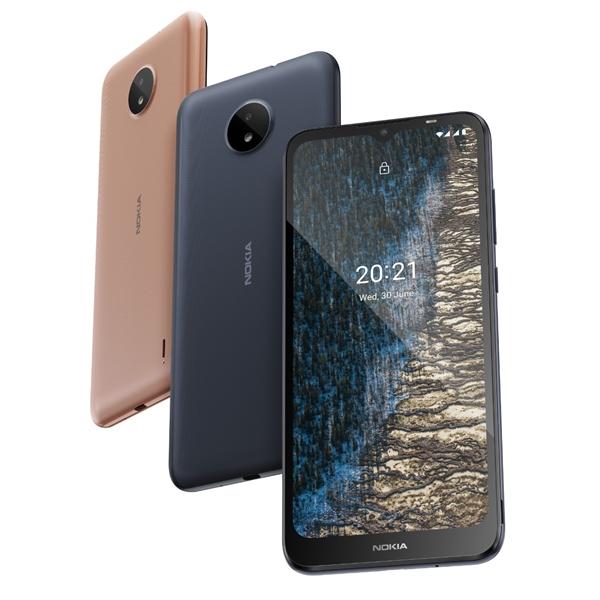 Nokia C20 được đánh giá là tối ưu cho người mới sử dụng smartphone, ra mắt tại Việt Nam với giá 2.290.000 đồng đi kèm ưu đãi trả góp không lãi suất.