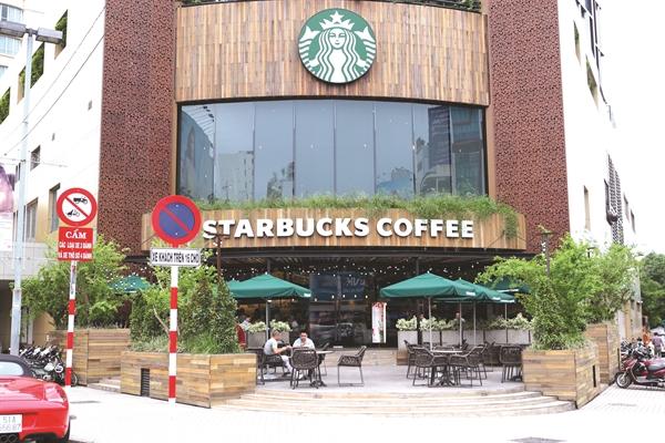 Starbucks có 67 cửa hàng trên toàn quốc sau 8 năm gia nhập thị trường Việt Nam.
