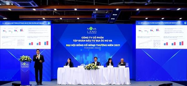 Đại hội đồng cổ đông 2021 của Novaland đã công bố kế hoạch kinh doanh năm 2021 với những con số ấn tượng.