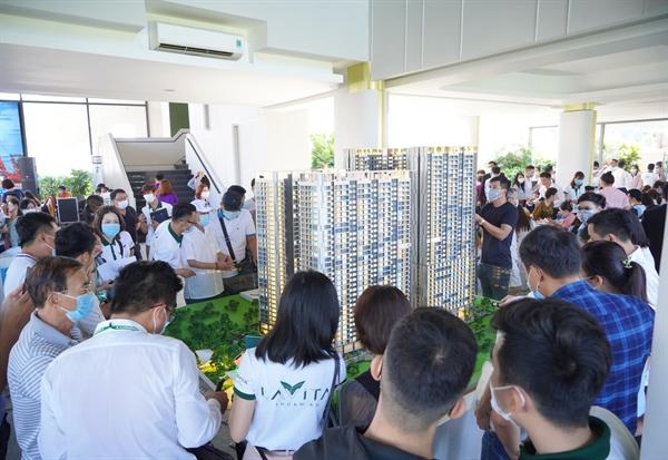 Lavita Thuan An thu hút sự quan tâm của đông đảo khách hàng. Ảnh: Hưng Thịnh Land.