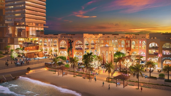 Caribbean - Một trong những phân khu shophouse mở bán đầu tiên.