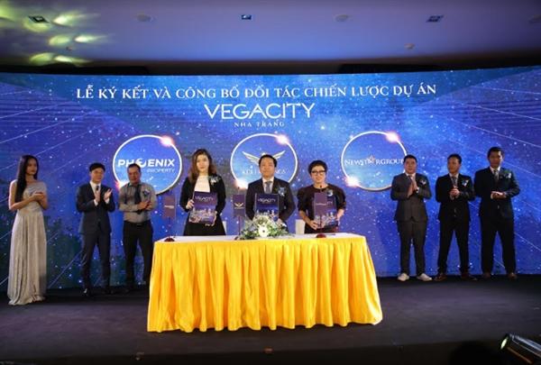 Công ty Phoenix Property cùng Tập Đoàn KDI Holdings kí kết với tổng đại phân phối dự án Vegacity Nha Trang