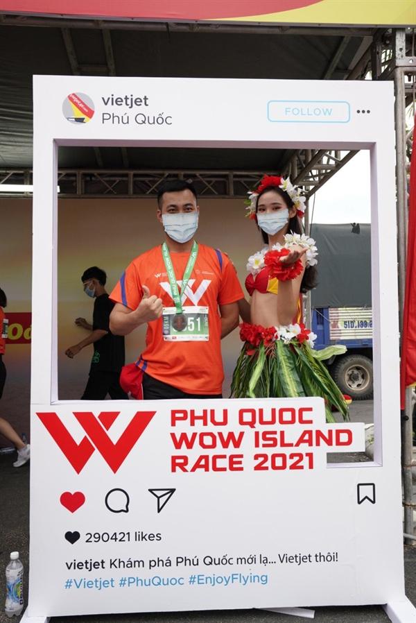Cùng Vietjet check-in với mùa hè đặc sắc, tươi trẻ là hoạt động thu hút đông đảo vận động viên và du khách.