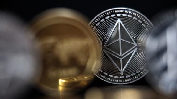 Mối quan tâm đến tiền điện tử đã tăng lên trong năm qua khi Bitcoin liên tục chạm các mức cao kỷ lục mới. Ảnh: CNBC.