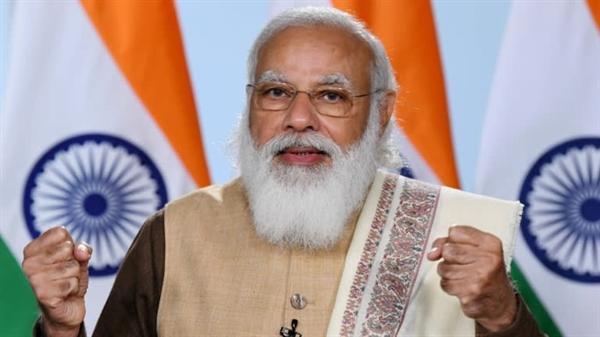 Sự lạc quan của Thủ tướng Narendra Modi dường như không có giới hạn. Ảnh: Văn phòng Thủ tướng Ấn Độ.