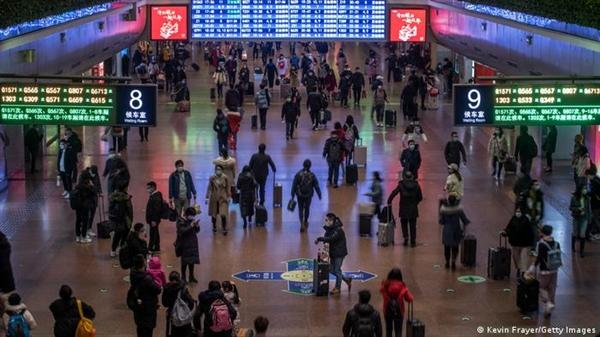 Theo điều tra dân số mới nhất, ngày càng có nhiều người sống ở các thành phố của Trung Quốc. Ảnh: Deutsche Welle.