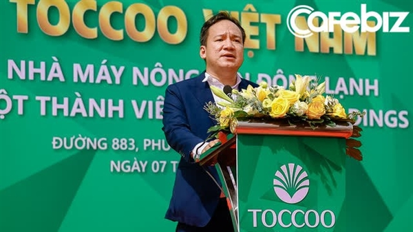 """Mr. Huynh Quang Vinh, General Director of Louis Holdings say: """"The factory can be officially put into operation in July 2021""""."""