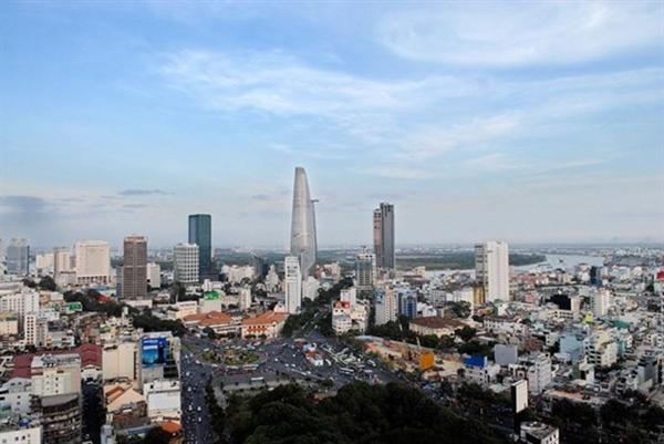 Thành phố Hồ Chí Minh, đầu tàu kinh tế của cả nước. Ảnh: TTXVN.