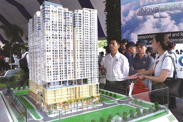 Doanh thu bán bất động sản của Novaland tăng mạnh trong quý I/2021. Ảnh: Lê Toàn