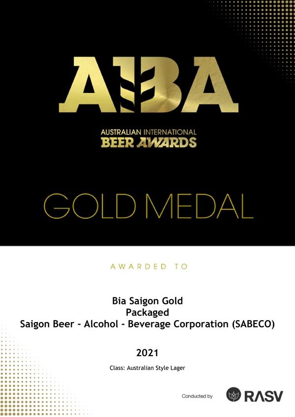 Cuộc thi AIBA nhằm tôn vinh những nhà sản xuất bia giỏi nhất trên toàn thế giới.