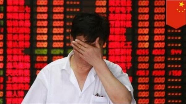 Giá cổ phiếu của các công ty công nghệ Trung Quốc lao dốc từ sau quy định tăng cường giám sát của chính quyền Bắc Kinh. Ảnh: TL.
