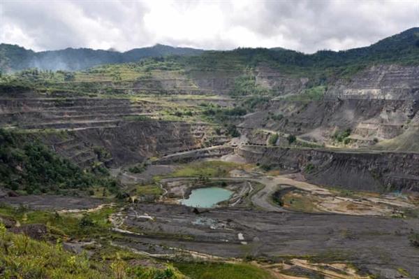 Mỏ Panguna đã châm ngòi cho một cuộc nội chiến kéo dài hàng thập kỷ tại khu tự trị Bougainville của Papua New Guinea. Ảnh: AAP.
