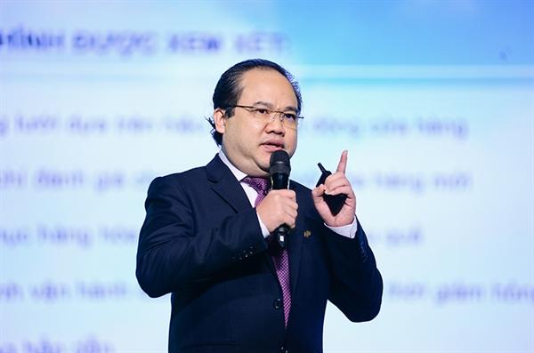 """Tổng Giám đốc VinCommerce Trương Công Thắng: """"Thỏa thuận đầu tư từ SK Group đã khẳng định mạnh mẽ tính hiệu quả của các sáng kiến chuyển đổi VinCommerce""""."""