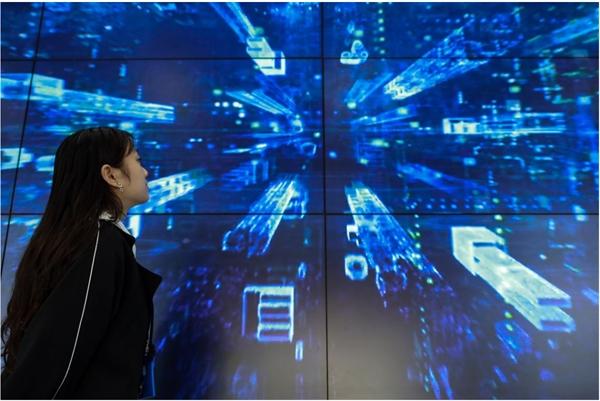 Bắc Kinh đang vẫy gọi cộng đồng các nhà phát triển toàn cầu của blockchain áp dụng tầm nhìn của mình cho công nghệ này. Ảnh: Tân Hoa Xã.
