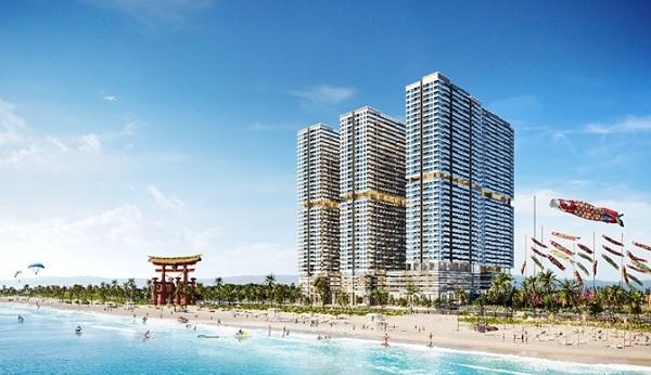 Khu đô thị Takashi Ocean Suite Kỳ Co sẽ là dự án mang phong cách Nhật Bản đầu tiên được xây dựng tại miền Trung.