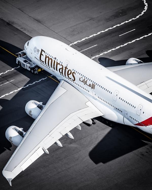Emirates là hãng hàng không nổi tiếng thế giới mà không có bất kỳ chuyến bay nội địa nào. Ảnh: JFKJets.
