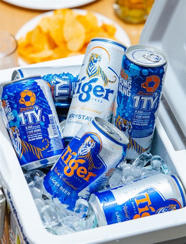 Đây là chương trình khuyến mãi lớn nhất trong lịch sử của Tiger Beer với tổng giá trị giải thưởng lên đến hàng trăm tỉ đồng.