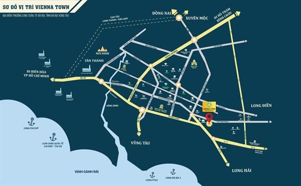 """Tọa độ """"kim cương"""" giúp Vienna Town khẳng định vị thế hàng đầu tại phân khúc nhà phố thương mại."""