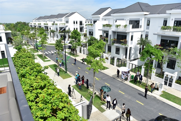 Khu phố phong cách Châu Âu tại Aqua City ra mắt vào tháng 11/2020.