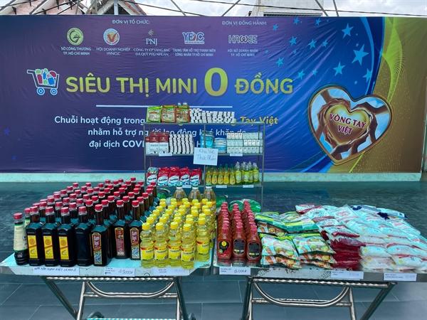 Công ty Cổ phần Vàng Bạc Đá Quý Phú Nhuận (PNJ) đã phát động chương trình Vòng Tay Việt, trong đó Siêu thị mini 0 đồng chính là hoạt động ý nghĩa đầu tiên.