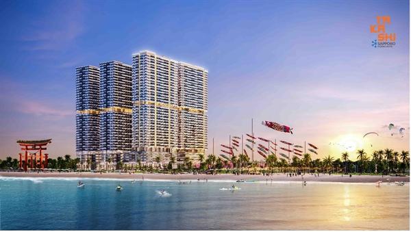 Khu đô thị du lịch biển Takashi Ocean Suite Kỳ Co – sản phẩm mới của Tập đoàn Danh Khôi hợp tác với đơn vị thiết kế Kume Design Asia danh tiếng Nhật Bản