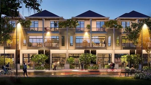 Nhà phố tự xây có giá trị đầu tư ban đầu vừa phải, linh hoạt trong xây dựng, thiết kế đảm bảo tiêu chuẩn quy hoạch kiến trúc chung của toàn khu.