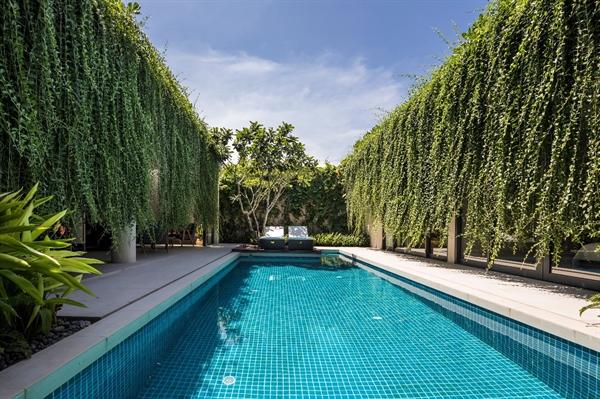 """Wyndham Phú Quốc nổi bật và khác biệt với những mảng xanh độc đáo theo xu hướng kiến trúc """"Go Green"""". Ảnh: TL."""