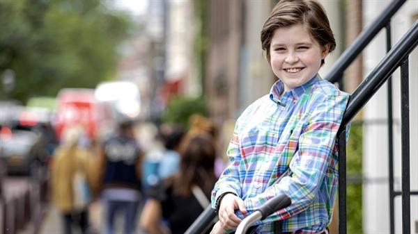 """""""Bất tử, đó là mục tiêu của tôi"""", cậu bé thiên tài 11 tuổi người Bỉ Laurent Simons khẳng định. Ảnh: EPA."""
