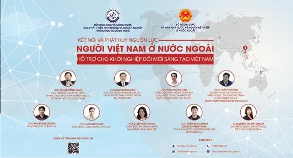 Hội thảo nhằm thu hút các nhà khoa học, chuyên gia công nghệ, doanh nhân kiều bào chia sẻ kiến thức, kinh nghiệm thực tế cho doanh nghiệp khởi nghiệp sáng tạo Việt Nam. Ảnh: TL.