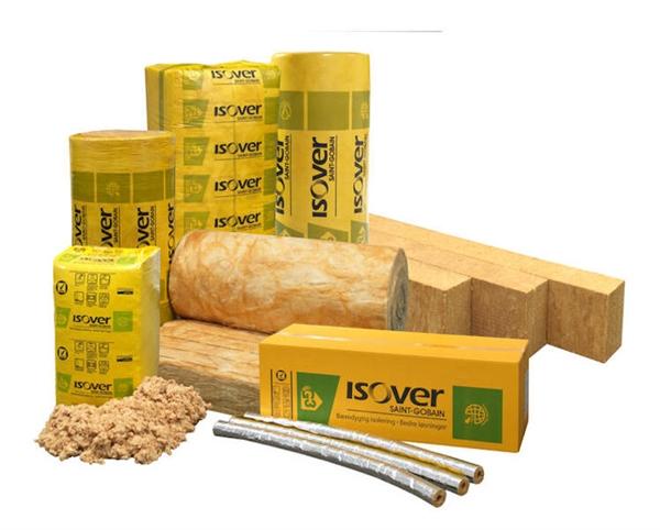 Giải pháp bông thủy tinh cách nhiệt của ISOVER, thương hiệu thuộc tập đoàn Saint-Gobain. Ảnh: TL.
