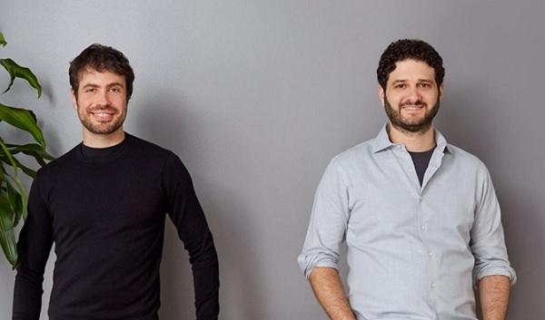 (Từ trái qua phải) Hai nhà đồng sáng lập Asana: Justin Rosenstein và Dustin Moskovitz