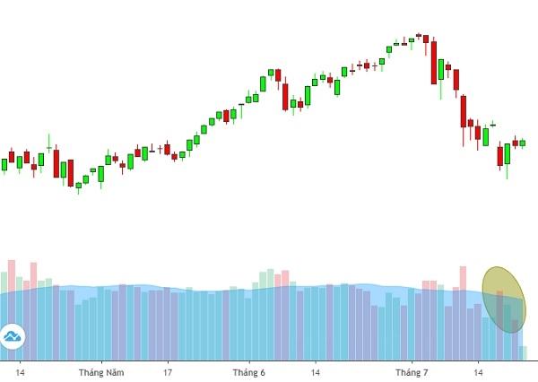 Thanh khoản trên thị trường liên tục ở mức thấp cho thấy nhà đầu tư vẫn đang khá thận trọng với diễn biến của thị trường, một bộ phận nhà đầu tư vẫn đang đứng ngoài và quan sát. Ảnh: FireAnt.