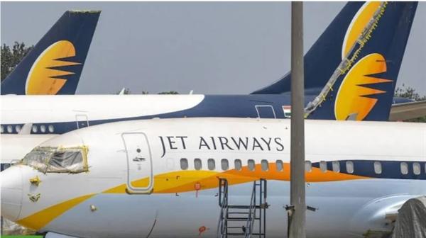 Hãng hàng không Jet Airways của Ấn Độ đã tuyên bố phá sản vào tháng 4.2019. Ảnh: Money Control.