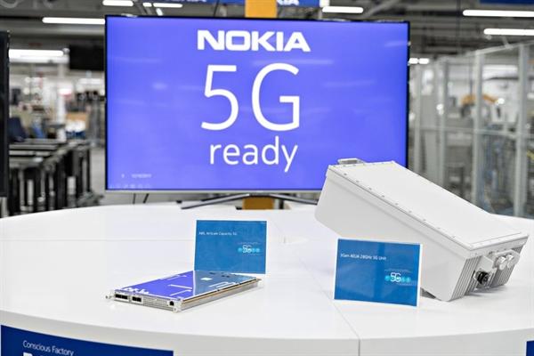 Cuộc cải tổ của ban lãnh đạo đã giúp Nokia trở lại cuộc đua mạng 5G. Ảnh: TL.