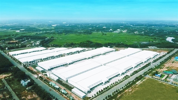 Construction of the My Phuoc 4 Industrial Park is scheduled to be completed in August 2021. Photo: BW