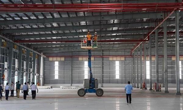 BW and ESR convert 40,000 sqm ready-built warehouse into  COVID-19 field treatment centre. Photo: BW